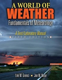 World of Weather Fifth Edition Book Cover