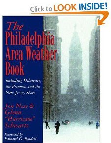 The Philadelphia Area Weather Book front cover image