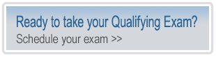 qualifying exam button