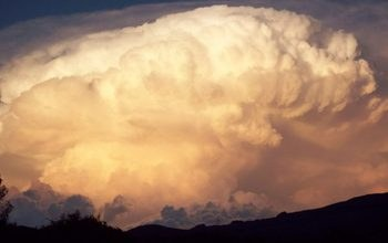 large thunderstorm cloud