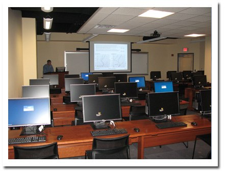 Joel N. Myers Weather Center Classroom
