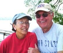 Bob and Charlotte Landis