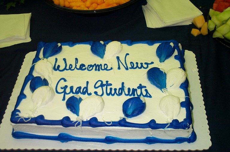 Welcome Grads cake