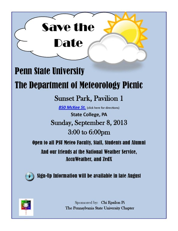 Picnic Save the Date 2013