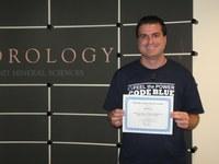 PhD student, Jared Lee, wins award at AMS Annual Meeting