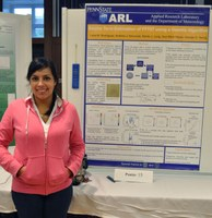 Luna Rodriguez takes first place in College of EMS poster competition