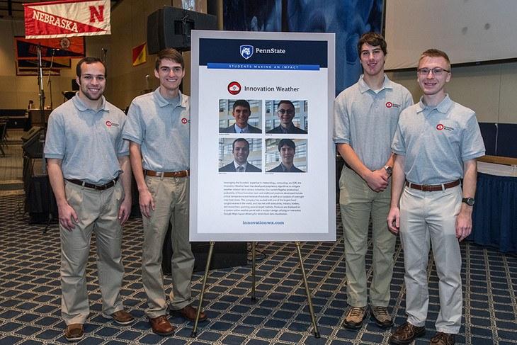 InnovationWeatherGroup Nathan Lis, Steve Hallett, Seth Cohen, Andy Moffitt.jpeg
