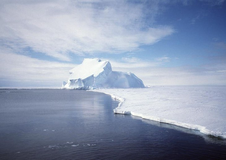 Earth's Antarctic Ice Sheet.