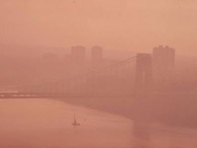 Smog NY and NJ at GWB