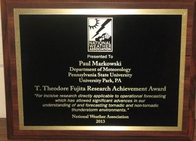 Markowski NWA Award