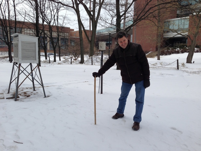 Bill Syrett Snow Measure Walker Building