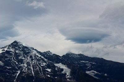 Third place - Israel Silber - Lenticular cloud above the Alps